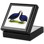Royal Purple Guineas Keepsake Box