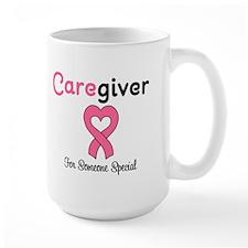 Caregiver Breast Cancer Mug