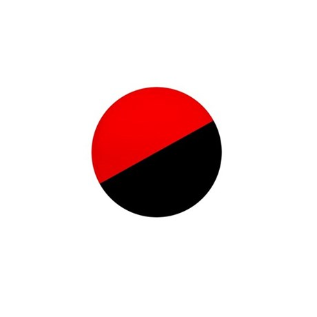 Anarcho-Syndicalist Flag Mini Button (10 pack)