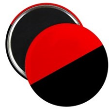 Anarcho-Syndicalist Flag Magnet