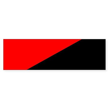 Anarcho-Syndicalist Flag Bumper Sticker