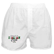 Love Italian Cooks Boxer Shorts