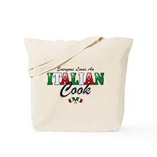 Love Italian Cooks Tote Bag