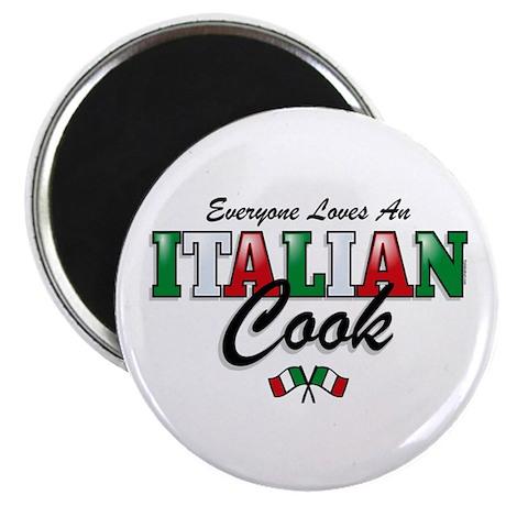 Love Italian Cooks Magnet