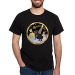 Night Flight/Pug (black) Dark T-Shirt