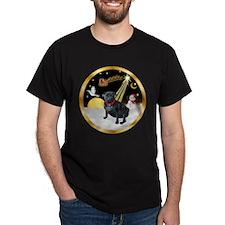 Night Flight/Pug (black) T-Shirt
