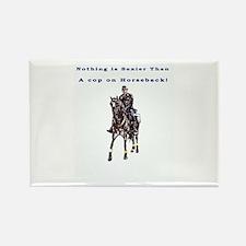 Horseback Rectangle Magnet
