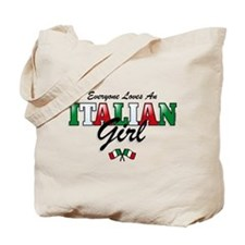 Love Italian Girls Tote Bag