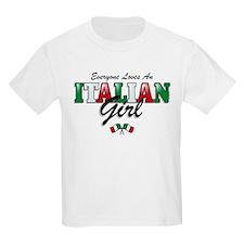 Love Italian Girls T-Shirt