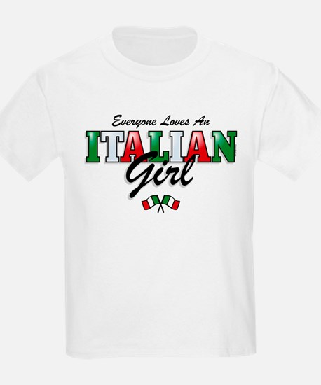 Love Italian Girls T-Shirt