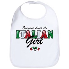 Love Italian Girls Bib