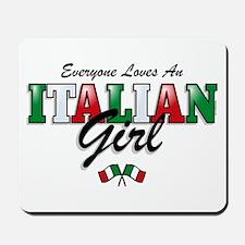 Love Italian Girls Mousepad