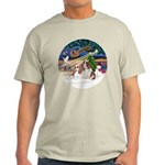 XmasMagic/2 Cavaliers Light T-Shirt