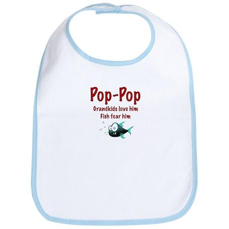 Pop-Pop - Fish fear him Bib