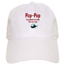 Pop-Pop - Fish fear him Baseball Cap