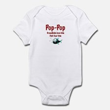 Pop-Pop - Fish fear him Infant Bodysuit