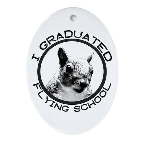 Flying School Grad Ornament