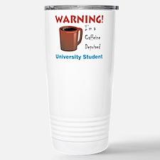 Caffeine Deprived University Travel Mug
