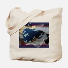 On behalf of a Greatful Natio Tote Bag