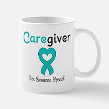 Caregiver Teal Ribbon Mug