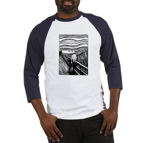 Munch's The Scream Baseball Jersey