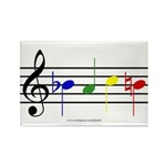 BACH Rectangle Magnet (10 pack)