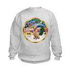 XmasMagic/Lab (yllow) Kids Sweatshirt