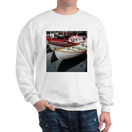 Boat Reflections - Sweatshirt