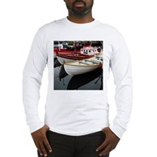 Boat Reflections - Long Sleeve T-Shirt