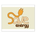 Save Energy Poster (Small)