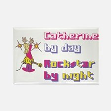 Catherine - Rock Star By Nigh Rectangle Magnet