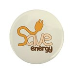 Save Energy Large Button (100 pack)