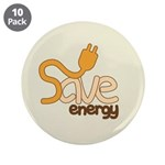 Save Energy Large Button (10 pack)