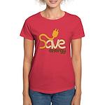 Save Energy Women's Dark T-Shirt