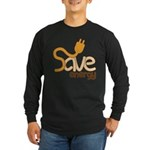 Save Energy Long Sleeve T-Shirt (Dark)