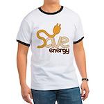 Save Energy Ringer T Shirt