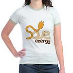 Save Energy Jr. Ringer T-Shirt