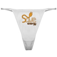 Save Energy Classic Thong