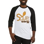 Save Energy Baseball Jersey