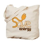 Save Energy Tote Bag