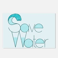 Save Water Postcards (8 pk)