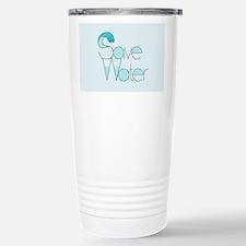 Save Water Travel Mug