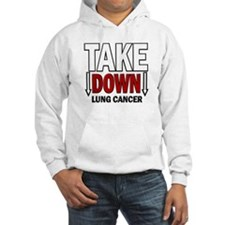 Take Down Lung Cancer 1 Hoodie