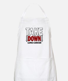 Take Down Lung Cancer 1 BBQ Apron
