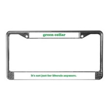 Funny Green lifestyle License Plate Frame