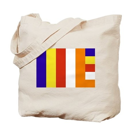 Buddhist Flag Tote Bag