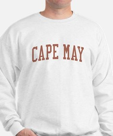 Cape May New Jersey NJ Red Sweatshirt