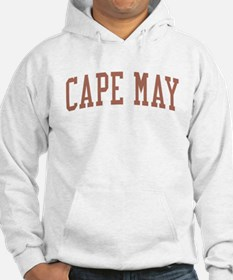 Cape May New Jersey NJ Red Hoodie Sweatshirt