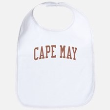 Cape May New Jersey NJ Red Bib