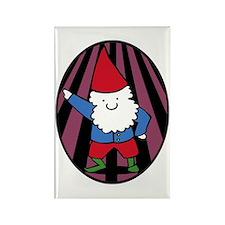 Disco Gnome Rectangle Magnet